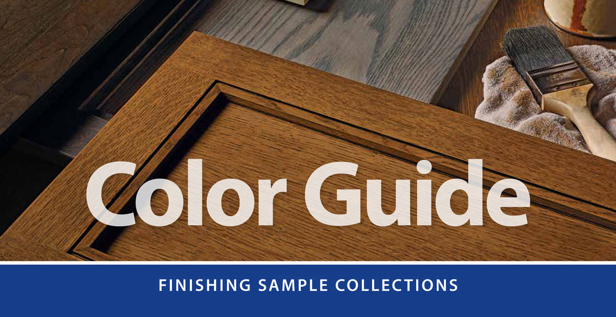 pick the color and finish for your project here